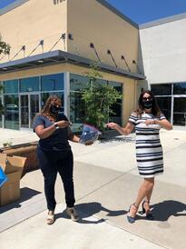 Wind Youth Services receives Stay SAFE masks