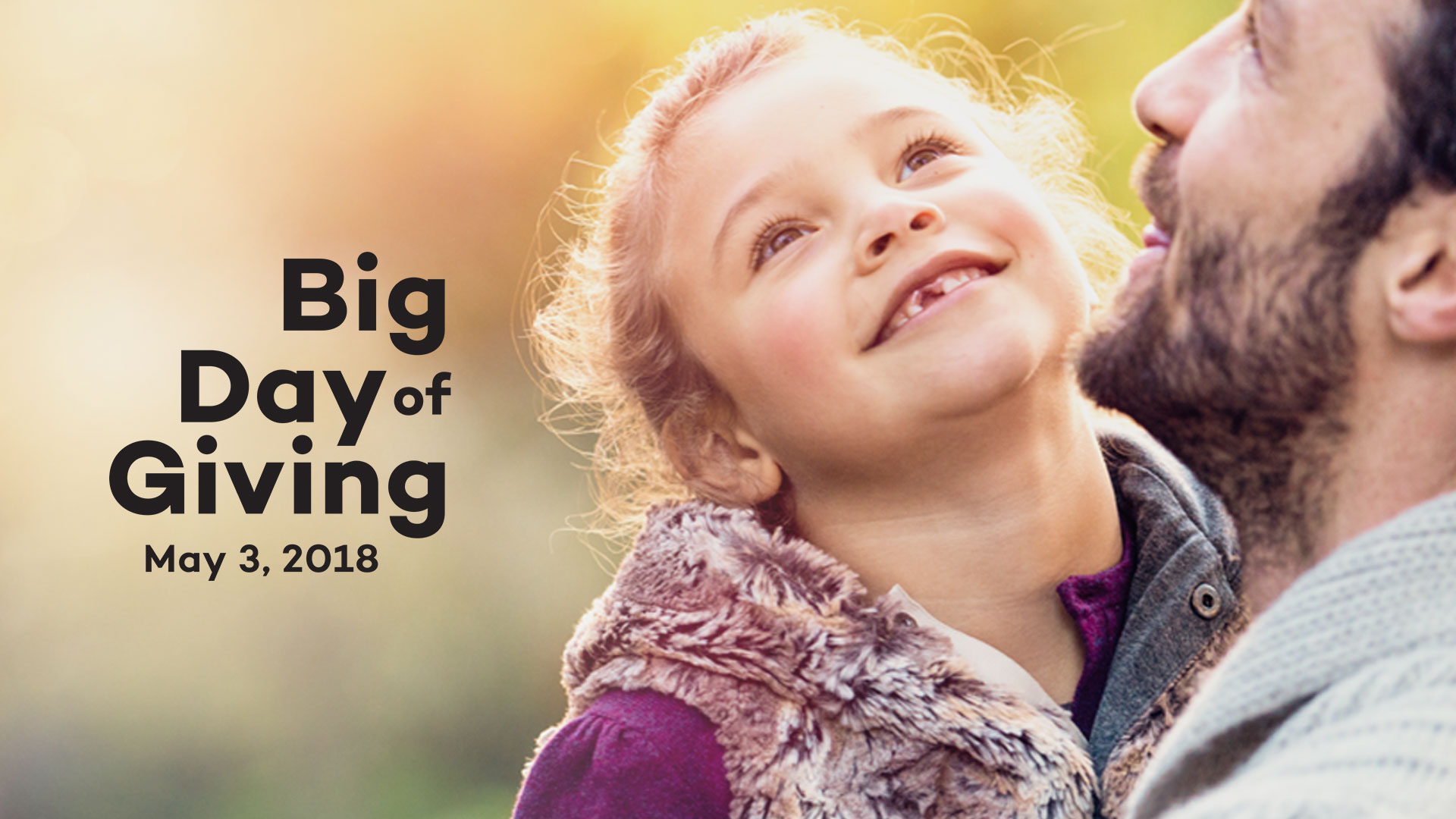 Help our community on Big Day of Giving