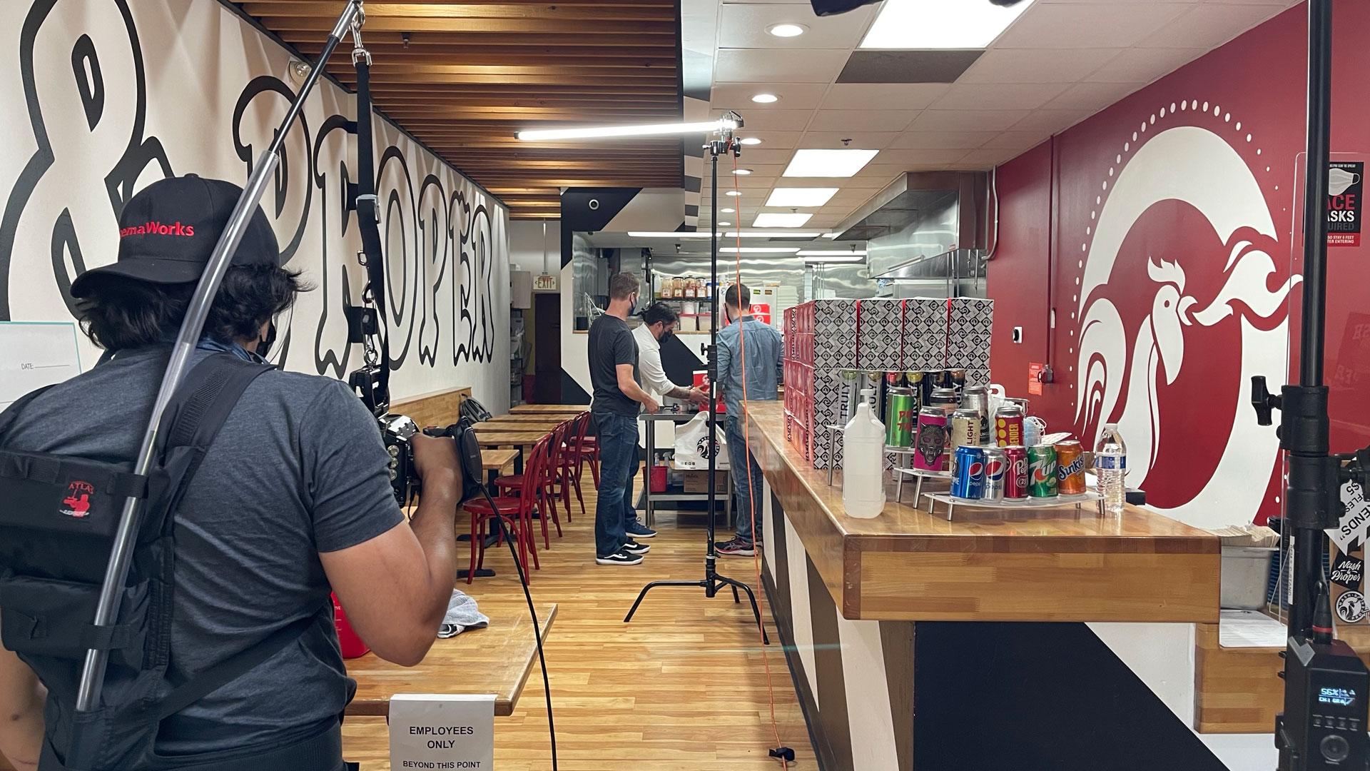 Behind the scenes at Nash & Proper.