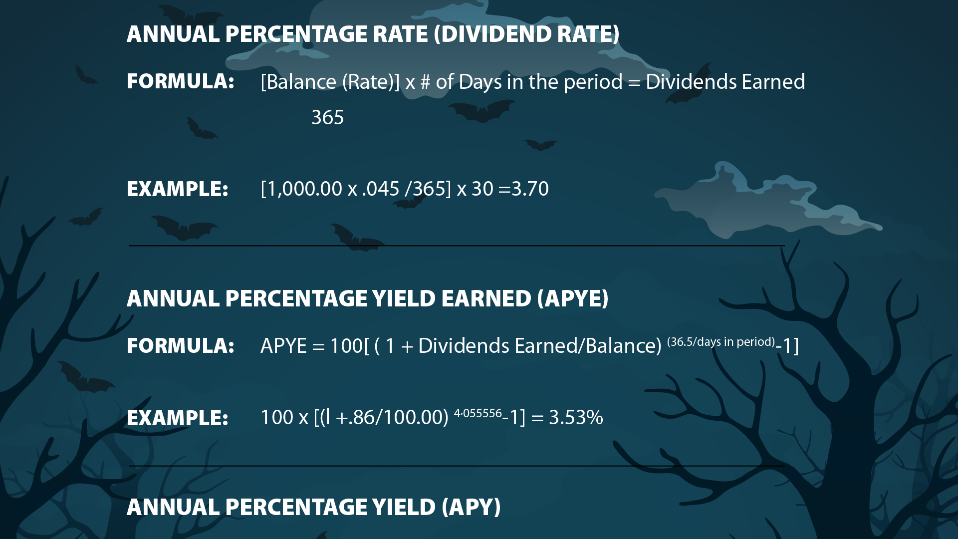 "Who's afraid of ""scary"" dividend formulas?"